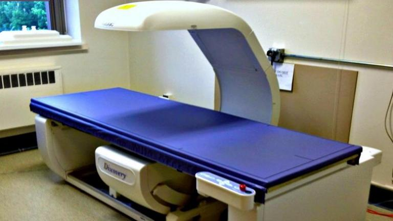 photo fo an CT machine.